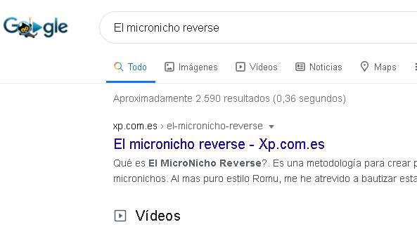 micro nicho reverse posicionado